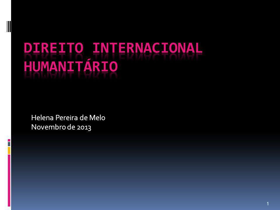 1 Helena Pereira de Melo Novembro de 2013