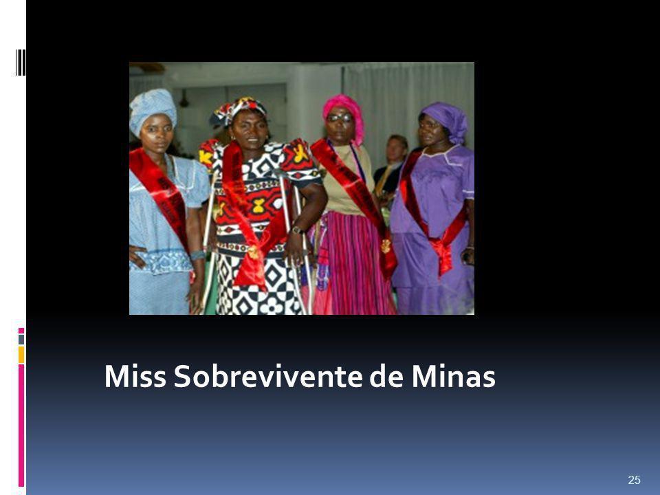 25 Miss Sobrevivente de Minas