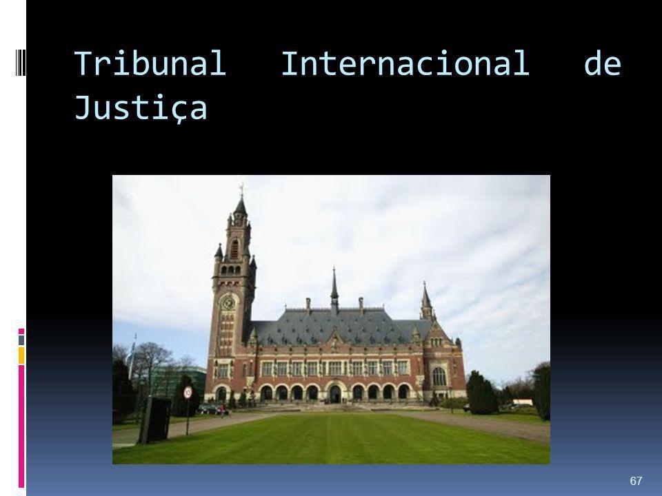 Tribunal Internacional de Justiça 67