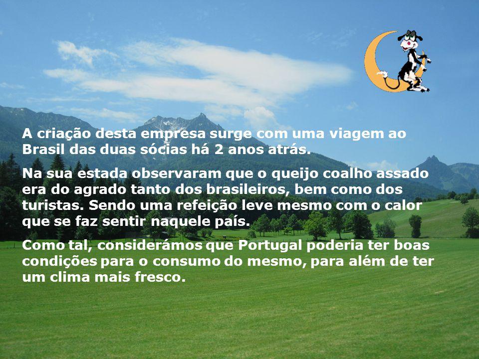 A criação desta empresa surge com uma viagem ao Brasil das duas sócias há 2 anos atrás.