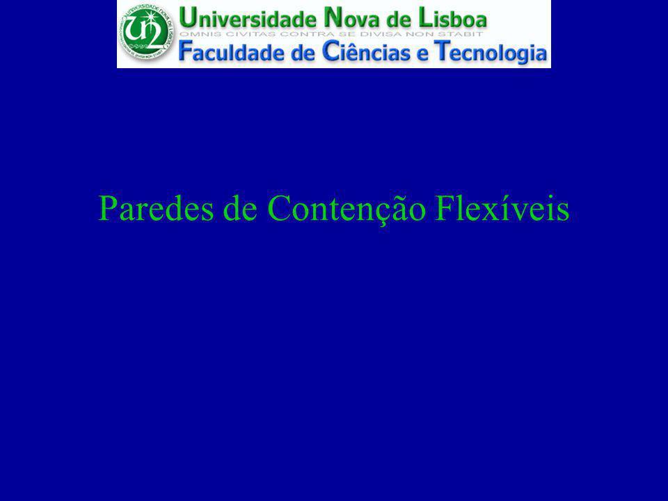 Paredes de Contenção Flexíveis