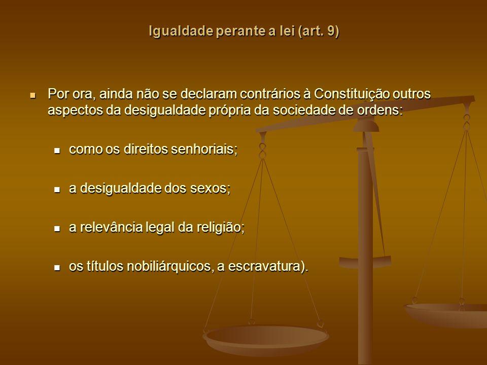 Igualdade perante a lei (art.