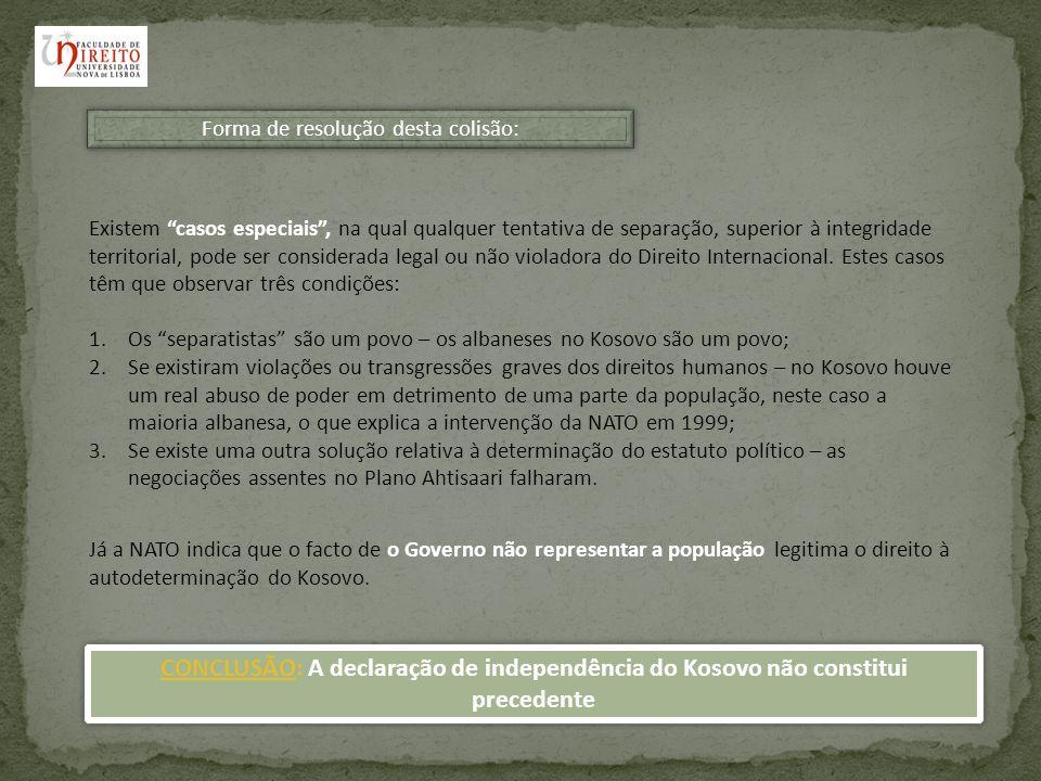 Reacção Internacional à declaração de Independência Kosovo Estados que reconhecem Kosovo formalmente como independente Estados que têm a intenção de reconhecer Kosovo como independente Estados que demoraram ou expressam neutralidade no reconhecimento da independência de Kosovo Estados que expressam preocupação sobre os movimentos unilaterais ou desejam negociações adicionais Estados que recusaram reconhecer Kosovo como independente