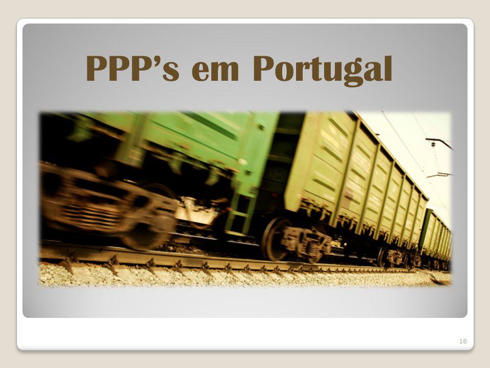 18 PPPs em Portugal