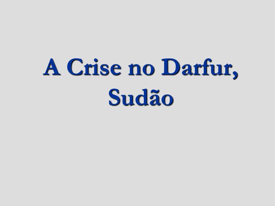 Contexto histórico do Sudão 1956: O Exército do Sudão declara a independência do país face ao Reino Unido e ao Egipto, cujo domínio conjunto ocorrera desde 1889; 1962: Guerra Civil entre o Norte e o Sul: Em 1972 o Sul conseguiu alcançar a autonomia, que lhe foi retirada em 1983, eclodindo novamente os conflitos;