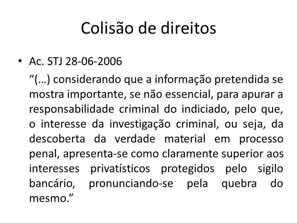 Colisão de direitos Ac.