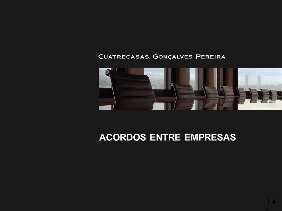ACORDOS ENTRE EMPRESAS 4545