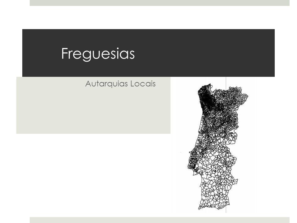 Freguesias Autarquias Locais