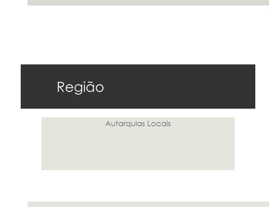 Região Autarquias Locais