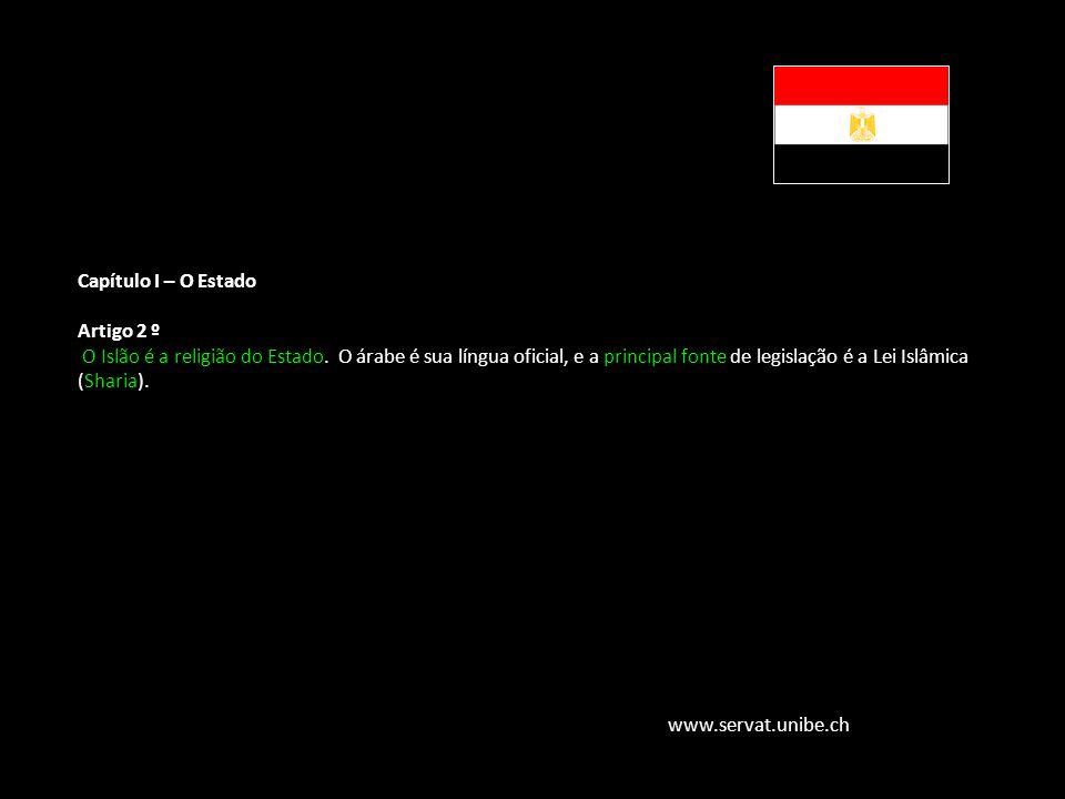 Família Jurídica do Direito Muçulmano Capítulo I – O Estado Artigo 2 º O Islão é a religião do Estado. O árabe é sua língua oficial, e a principal fon