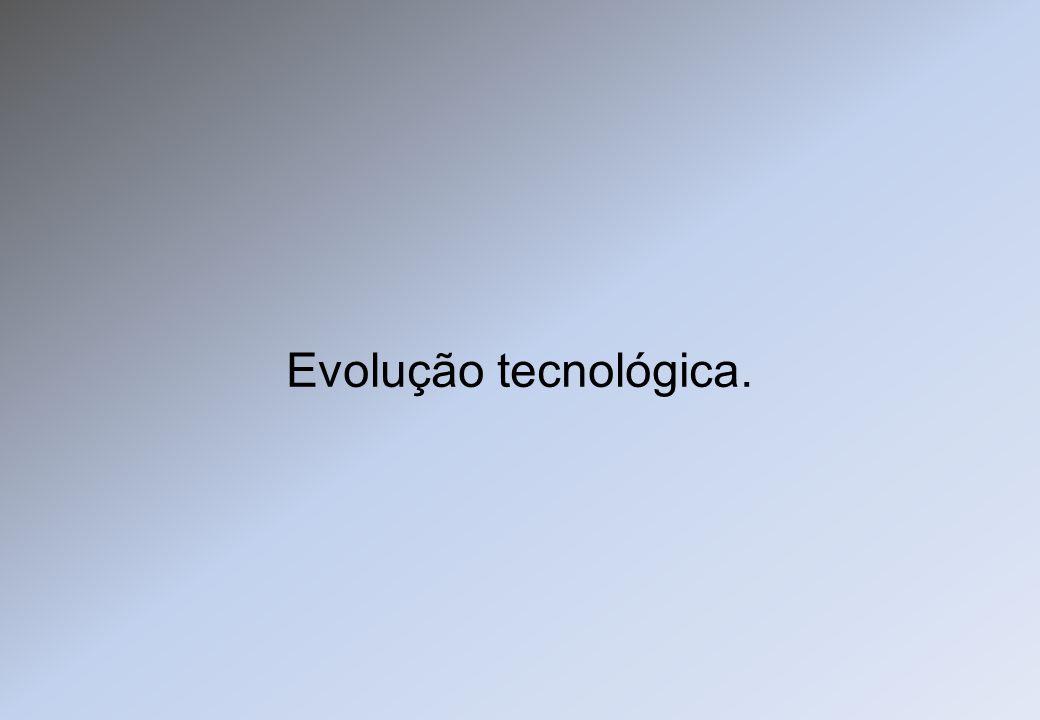 Evolução tecnológica.