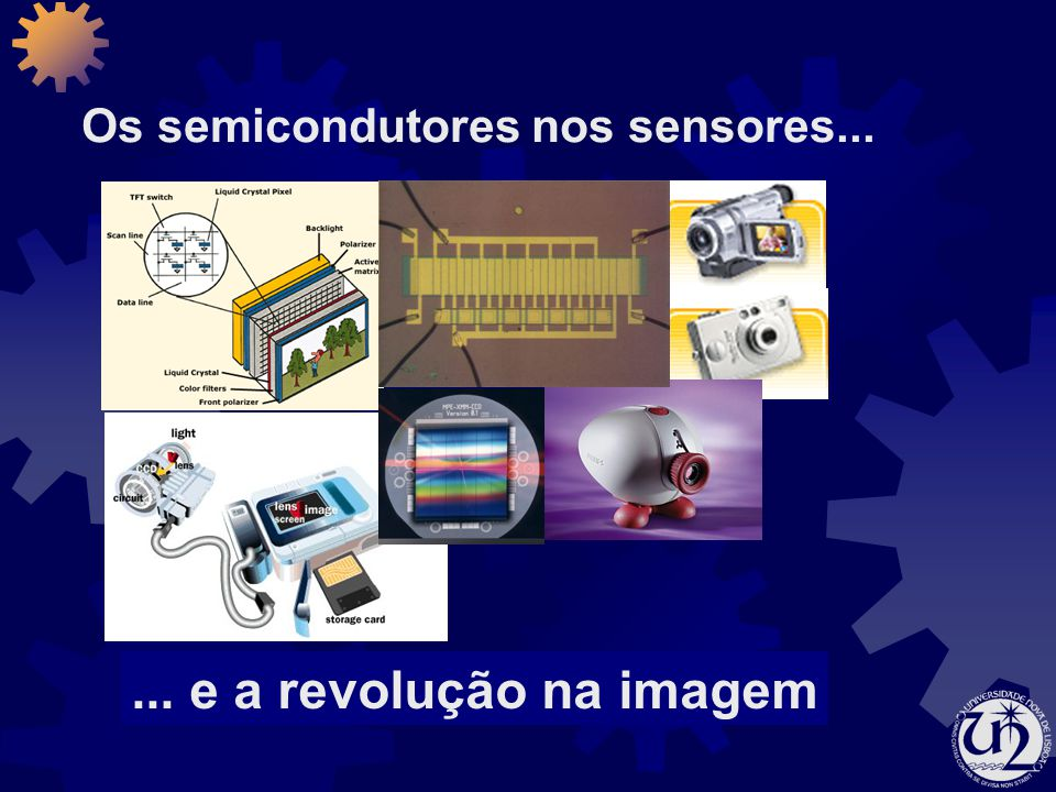 Os semicondutores nos sensores...... e a revolução na imagem