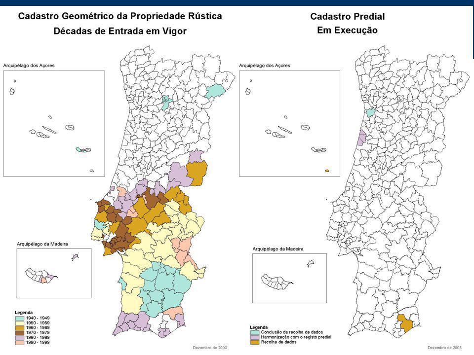 Sistemas de Informação Geográfica DGPR Situação Actual