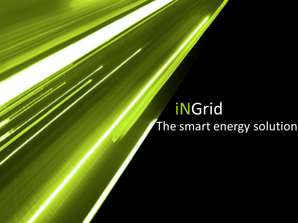 iNGrid The smart energy solution
