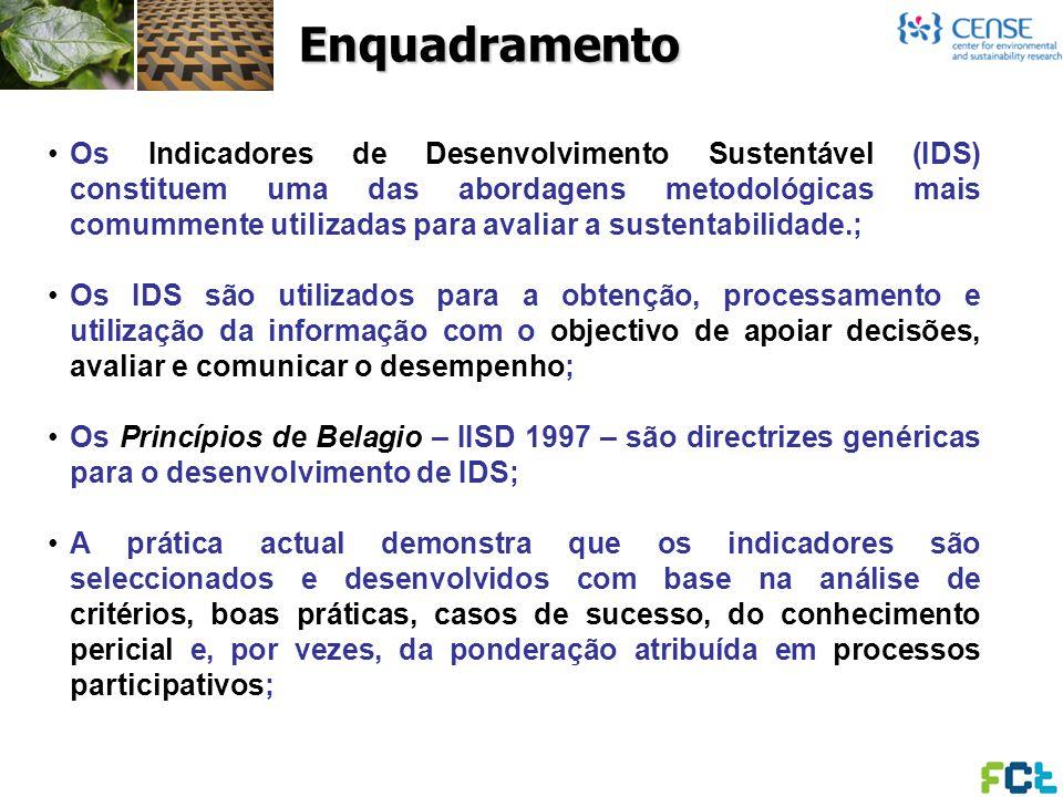Os Indicadores de Desenvolvimento Sustentável (IDS) constituem uma das abordagens metodológicas mais comummente utilizadas para avaliar a sustentabili
