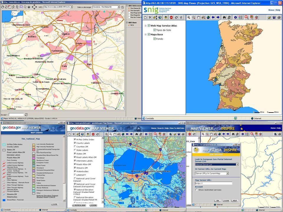 Sistemas de Informação Geográfica & Análise Espacial DGPR