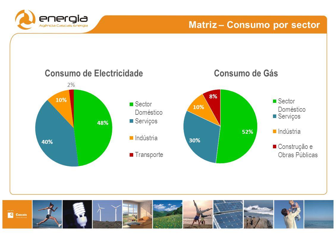 Matriz – Consumo por sector