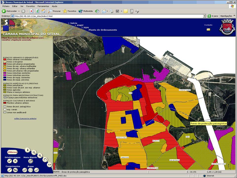 Sistemas de Informação Geográfica & Análise Espacial DGPR Informar a Sociedade