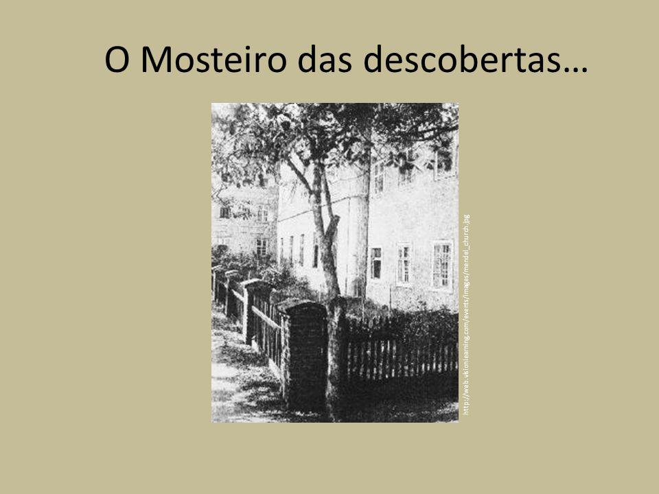 http://web.visionlearning.com/events/images/mendel_church.jpg O Mosteiro das descobertas…