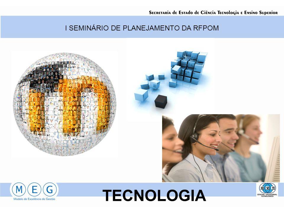 I SEMINÁRIO DE PLANEJAMENTO DA RFPOM TECNOLOGIA