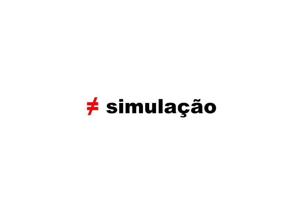simulação