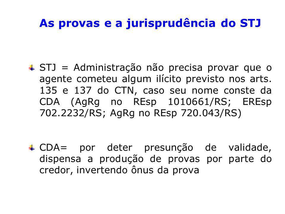 STJ = Administração não precisa provar que o agente cometeu algum ilícito previsto nos arts.