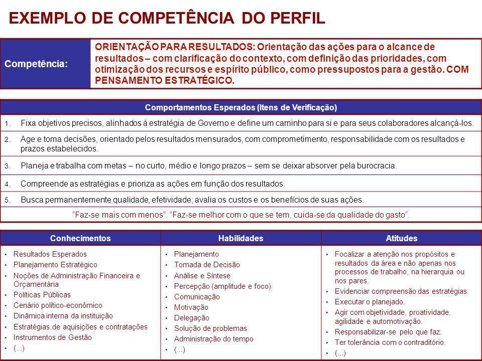 PricewaterhouseCoopers Junho de 2009 Competência: ORIENTAÇÃO PARA RESULTADOS: Orientação das ações para o alcance de resultados – com clarificação do