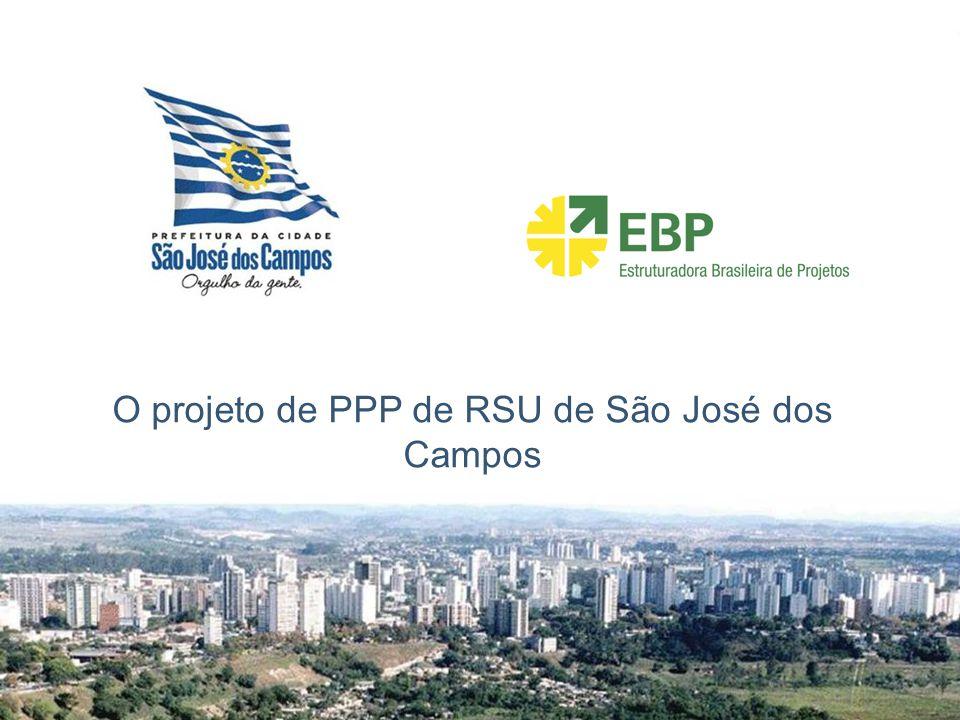 O projeto de PPP de RSU de São José dos Campos