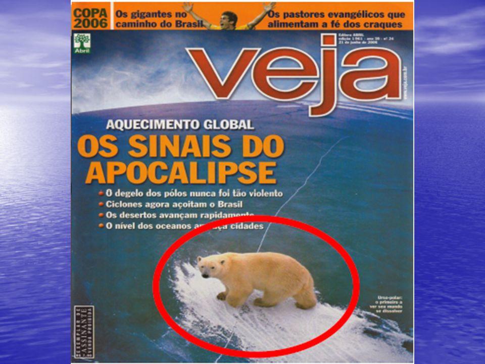 Aquecimento Global e Mudanças Climáticas O IPCC (Painel Intergovernamental sobre Mudanças do Clima) publicou, em julho de 2001, três volumes de relatórios sobre as mudanças climáticas, e agora, em 2007, o mais recente deles que reitera as afirmações do primeiro sobre as Mudança do Clima.