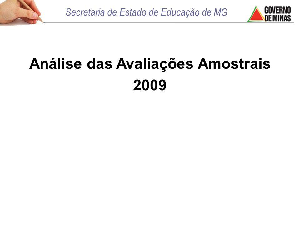 Análise das Avaliações Amostrais 2009