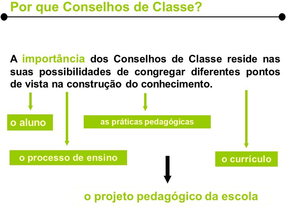 A DINÂMICA DAS REUNIÕES Visão globalizada da relação pedagógica estabelecida entre as turmas e os diferentes aspectos e indicadores definidos para a avaliação.