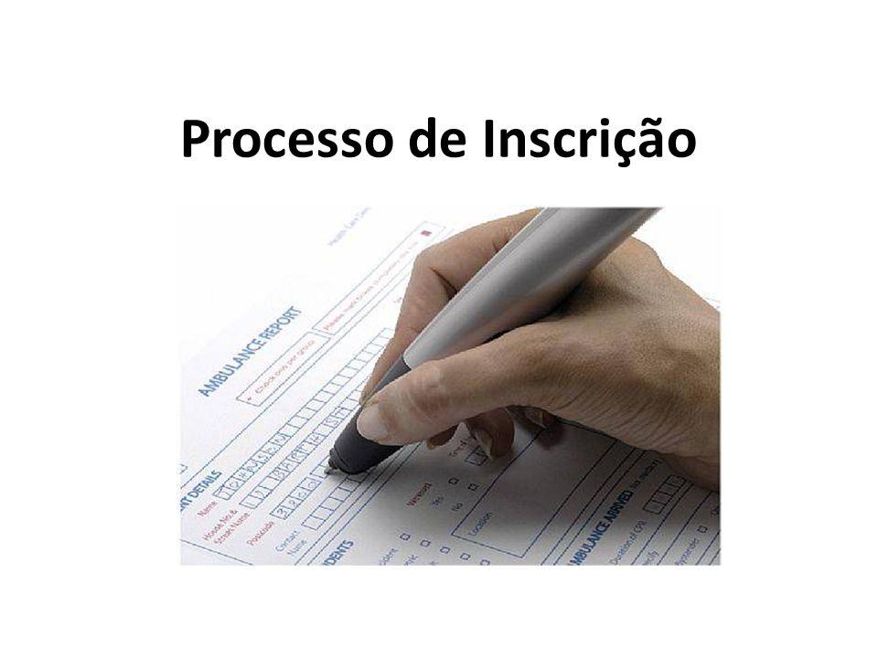 Processo de Inscrição