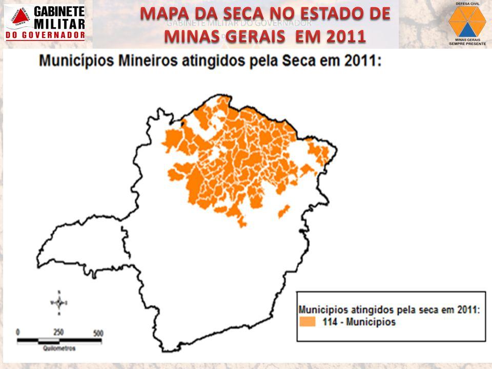 Auxiliar tecnicamente os municípios na Decretação de Situação de Emergência: Município de Pedras de Maria da Cruz.