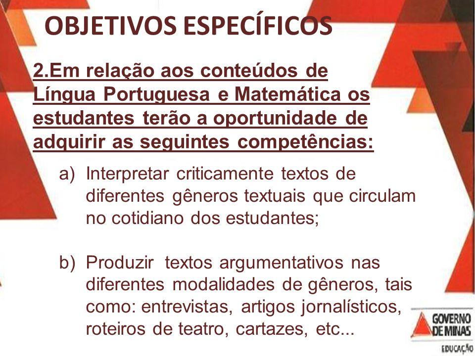 b)Produzir textos orais e escritos para diferentes contextos e interlocutores.