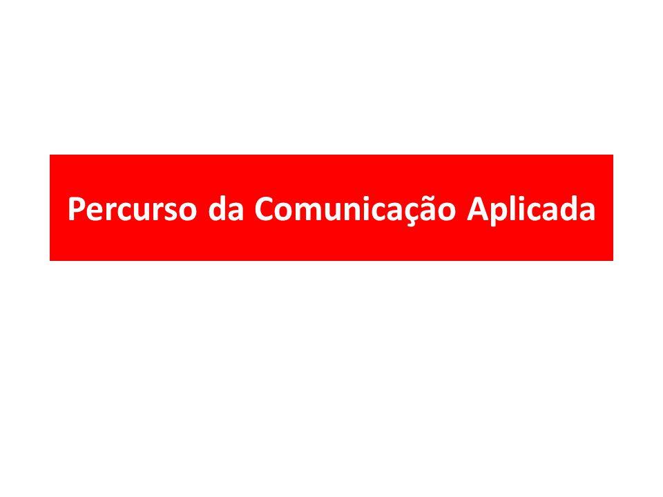 Percurso da Comunicação Aplicada