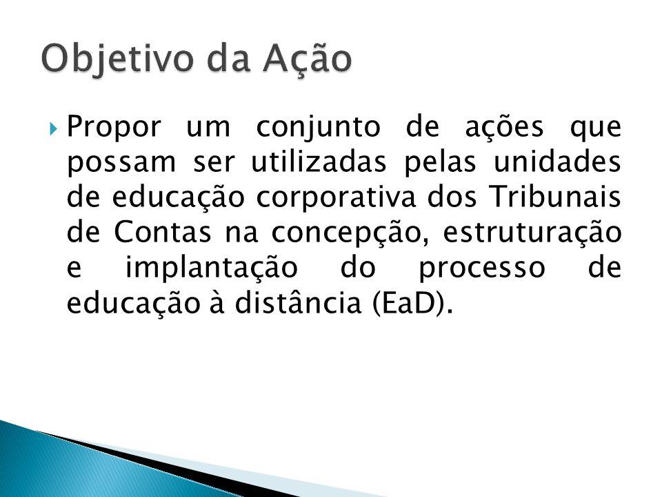 TCE-PE Projeto de estruturação de EaD na Escola de Contas TCE-SP Experiência apresentada na reunião técnica do GEC em maio/2013