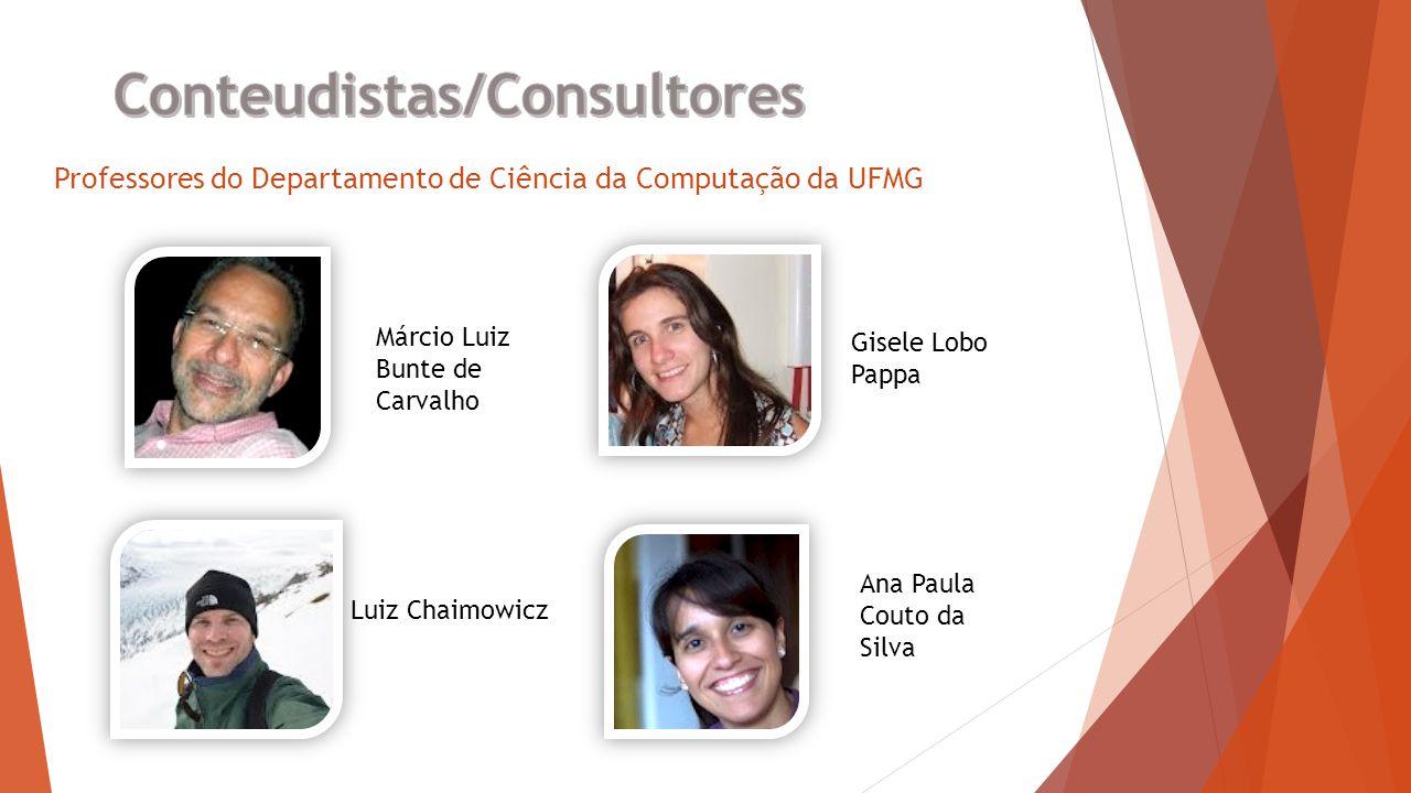Professores do departamento de Computação da UFMG Mirella Moura Moro Antônio Mendes Ribeiro Ângelo Guimarães