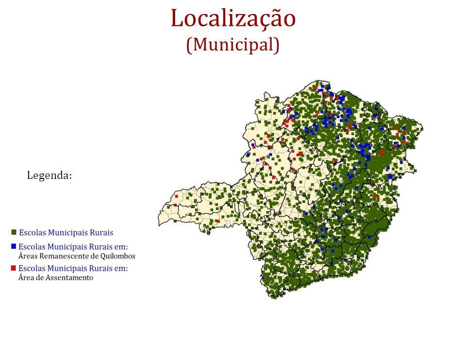Localização (Municipal) Legenda: