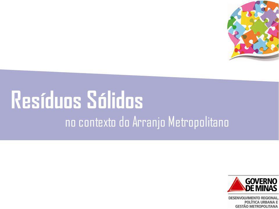 PARCERIA ARMBH – JAPÃO Projeto para a Promoção da Eficiência na Gestão de Resíduos Sólidos no Brasil Programa de Gestão Metropolitana de Resíduos !