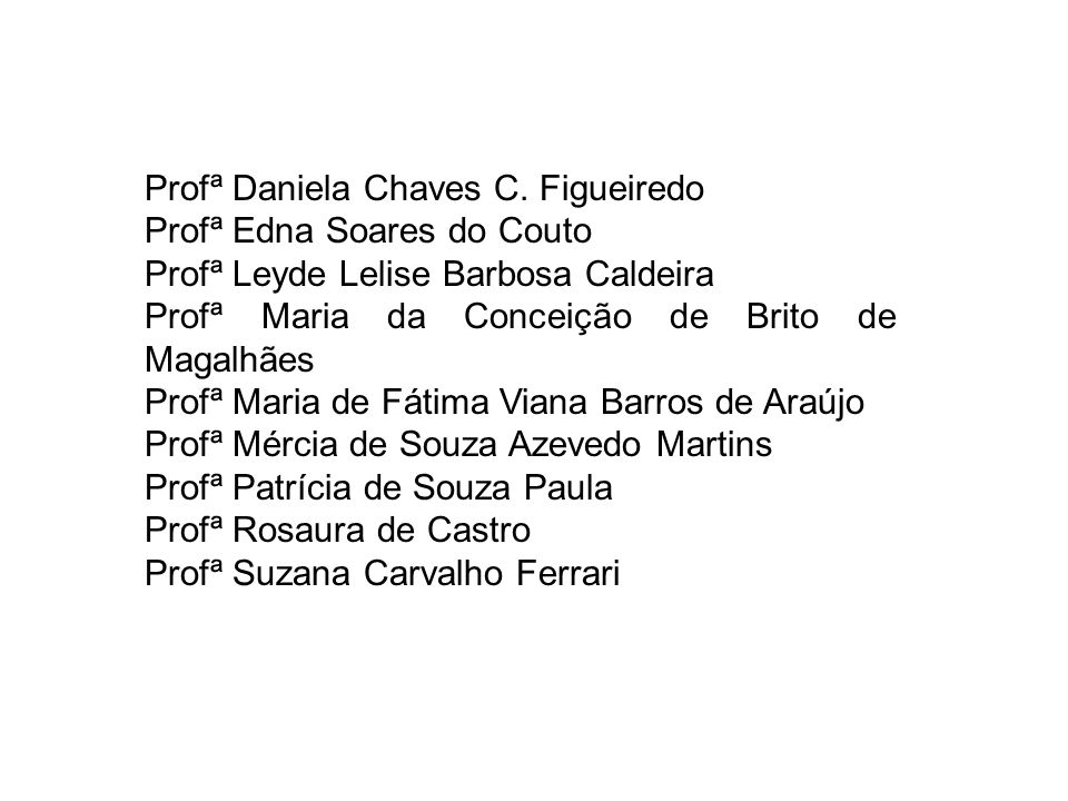 Profª Daniela Chaves C.