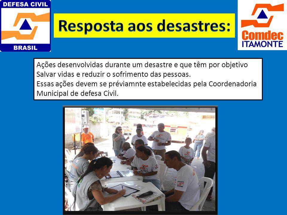 Conjunto de medidas e ações para reduzir ao mínimo as perdas de vidas Humanas e outro danos em casos de acidentes.