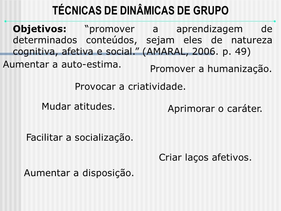 T é cnicas de Dinâmicas de Grupo no processo de ensino e aprendizagem Prof. Maria de Lourdes Coelho