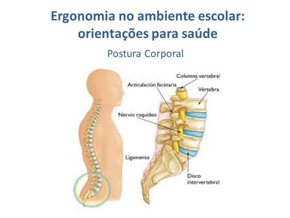 Ergonomia no ambiente escolar: orientações para saúde Postura Corporal