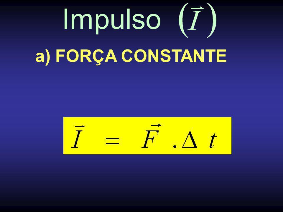 Impulso b) FORÇA QUALQUER