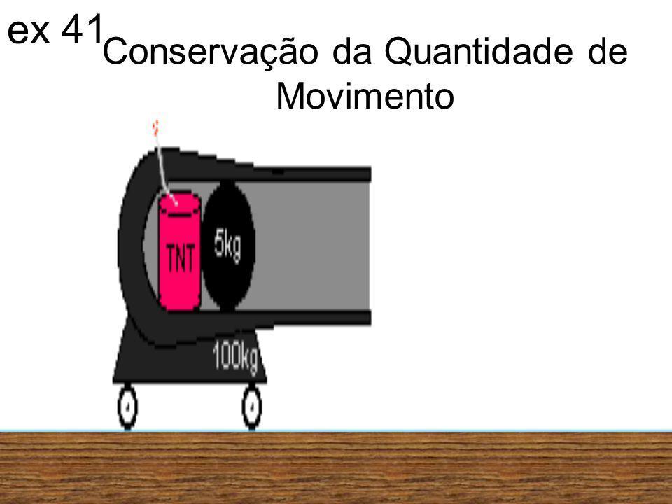 Conservação da Quantidade de Movimento ex 41
