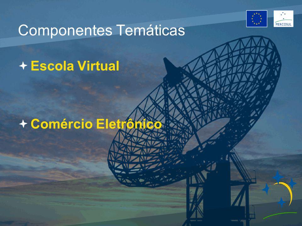 Componentes Temáticas Escola Virtual Comércio Eletrônico