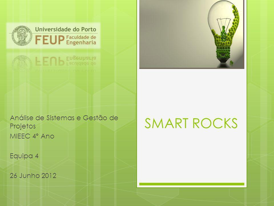 SMART ROCKS Análise de Sistemas e Gestão de Projetos MIEEC 4º Ano Equipa 4 26 Junho 2012