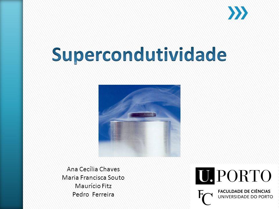 Objectivos O que é um supercondutor.