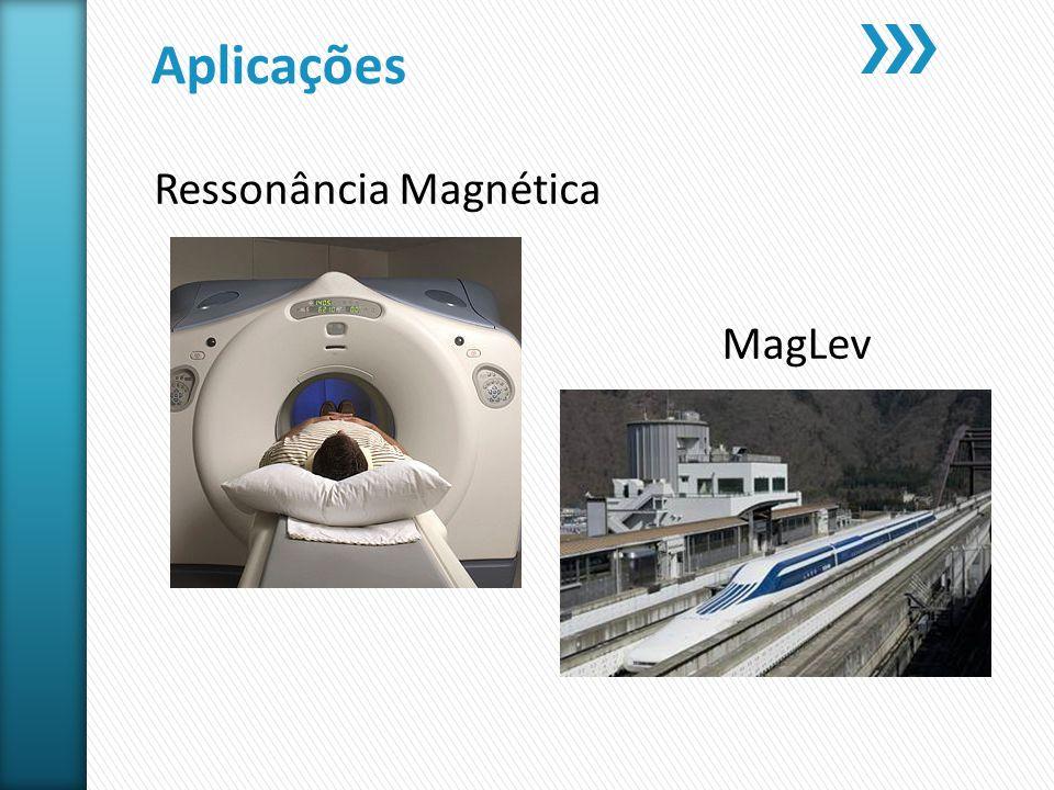 Aplicações Ressonância Magnética MagLev