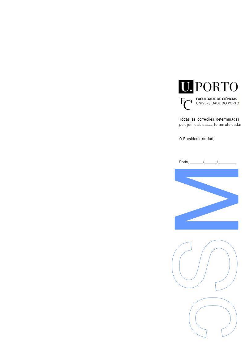O Presidente do Júri, Porto, ______/______/______ Fiscalização e exploração da cartografia do concelho de Aveiro Mário Júlio Rocha Figueiredo Mestrado em Engenharia Geográfica Departamento de Geociências, Ambiente e Ordenamento do Território (DGAOT) 2012 O Presidente do Júri, Porto, ______/______/______ Fiscalização e exploração da cartografia do concelho de Aveiro Mário Júlio Rocha Figueiredo Mestrado em Engenharia Geográfica Departamento de Geociências, Ambiente e Ordenamento do Território (DGAOT) 2012